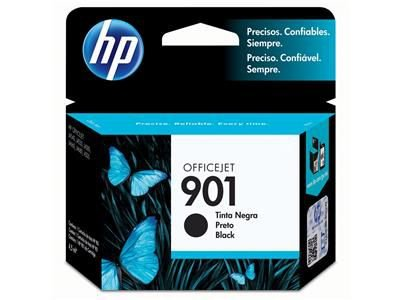 CARTUCHO HP 901 OFFICEJET JATO DE TINTA PRETO 4 ML - CC653AL - ORIGINAL HP - PRETO officejet OJ 4540/ OJ 4550/ OJ 4580/ OJ 4660