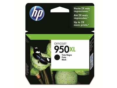 CARTUCHO HP 950XL / 950 XL - ORIGINAL HP  JATO DE TINTA PRETO 53ML - CN045AB  HP OfficeJet Pro: 200z, 251dw, 276dw, 8100, 8110, 8600, 8610, 8615, 8620, 8625, 8630, 8700