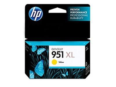 CARTUCHO HP 951XL / 951 XL JATO DE TINTA AMARELO 17ML - CN048AB ORIGINAL HP  Impressora HP Officejet Pro 251dw (CV136A), Multifuncional HP Officejet Pro 276dw , HP Officejet Pro 8100 ePrinter N811a , Officejet Pro 8600 / 8610 / 8620