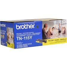 Toner Brother ORIGINAL BROTHER TN 115 Y 115 TN115Y TN 115Y MFC 9440 CN / DCP 9040 CN / DCP 9045 CDN / HL 4040 CN / HL 4070 CDW, Toner AMARELO com rendimento de 4.000 páginas à 5% de cobertura