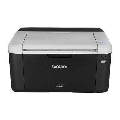 Impressora laser HL-1212W monocromática; Velocidade de impressão 21 ppm; Resolução (máxima) em dpi: Até 2400 x 600 dpi; Interface: USB 2.0 de alta velocidade, Wireless; Capacidade máxima do papel: Até 150 folhas.