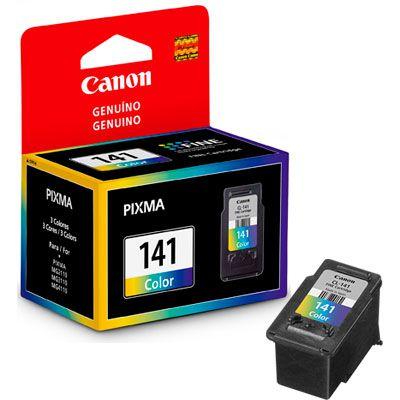 Cartucho jato de tinta color com 8ml, para Pixma MG2110, 3110 e 4110 CL-141