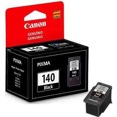 Cartucho jato de tinta PG - 140 preto com 8ml, para Pixma MG2110, 3110 e 4110 PG-140