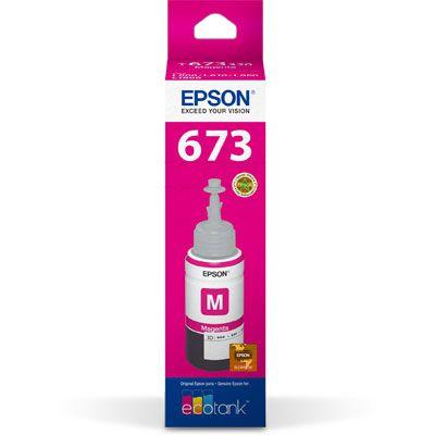 Refil p/Ecotank L800 magenta T673320AL Epson CX 1 UN 70ml