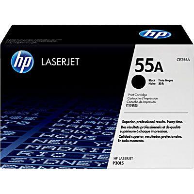 Cartucho toner p/HP laserjet preto 55A CE255AB HP CX 1 UN