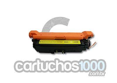 Toner HP CE 402A 402 507A/  M575F M575C M570DN M551DN M551N/ Amarelo/ Compatível