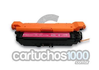Toner HP CE 403A 403 507A / M575F M575C M570DN M551DN M551N / Magenta/ Compatível