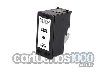 Cartucho de Tinta HP 74XL 74 CB336WB 336/ D4260 C4280 J5780/ Compatível
