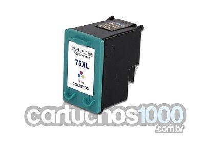 Cartucho de Tinta HP 75XL 75 CB338WB 338/ J5780 C4280 D4260 C5280/ Compatível