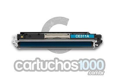 Toner HP CE 311 A 311 A 126 A  311 126 / CP 1020 CP 1020 WN CP 1025 M 175 M 175 A / Compatível / Ciano