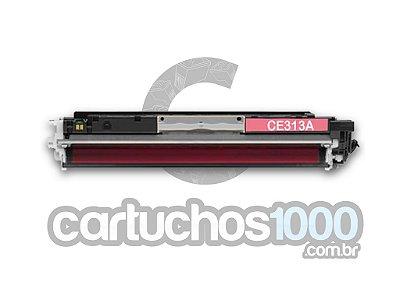 Toner HP CE 313 A CE 313 AB 313 A 126 A 313 126 /  CP 1020 CP 1025 M 175 M 175 A M 275/ Compatível / Magenta
