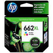 CARTUCHO DE TINTA HP 662XL 662 CZ106AB CZ106AL COLOR | ORIGINAL 8ML