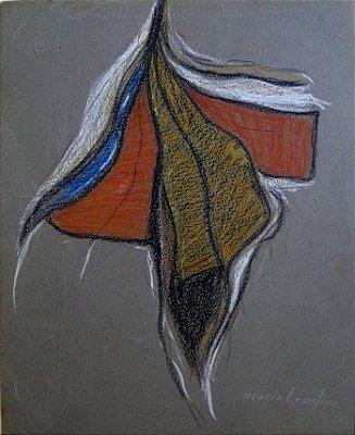 Sem Título - Maria Leontina (SP) - PASC - 024x029 cm. - CMV - CID - (Com Certificado de Autenticidade)