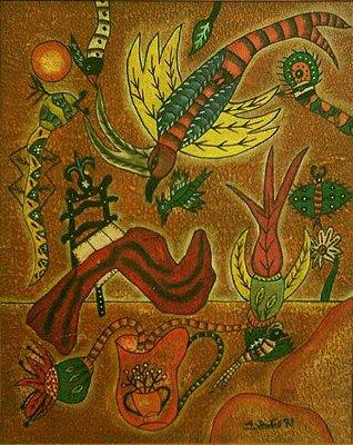 Alucinação - Alcides Santos (PE) - OLSA - 050x040 cm. - CM - Ass.CID
