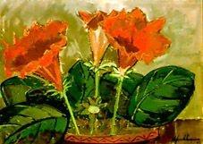 Flores Vermelhas - Marcelo Peregrino (PE) - ACSA - 056x077 cm. - Ass. CID94