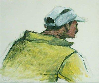 Desportista - Gil Vicente (PE) - Acrílica s/Papel - 030x035cm.