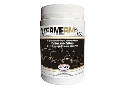 Vermefim 85 FeSo4 - Mineraliza, Desvermina e combate a Anemia
