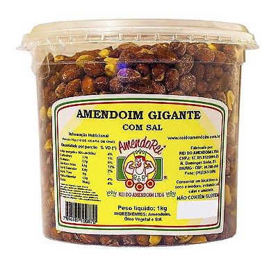 Amendoim Gigante Com Sal