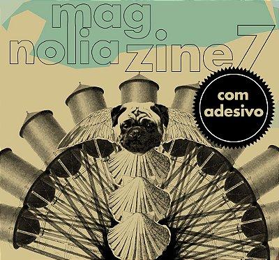 Magnolia Zine (número 07) com adesivo