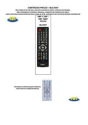 Controle Remoto Bluray Disc Sony Neon Tectoy Samsung Panasonic Phillips Philco