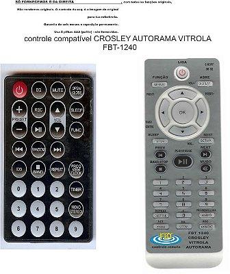 Controle Remoto Compatível Crosley Vitrola FBT1240