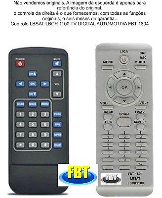 Controle Remoto Compatível Lbsat Lbcr1100 Tv Dig Automot 2 FBT1804