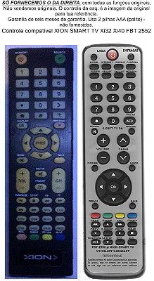 Controle Remoto Compatível XION smart  32 FBT2552