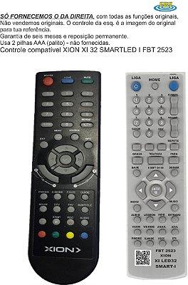 Controle Remoto Compatível XION XI 32 SMART I LED FBT 2523
