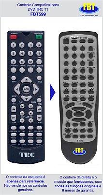 Controle Compatível TRC DVD350 DVD FBT599