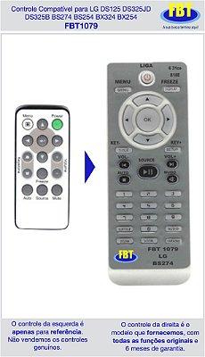 Controle Compatível Projetor LG DS125 DS325jd DS325b BS274 BS254 6 FBT1079