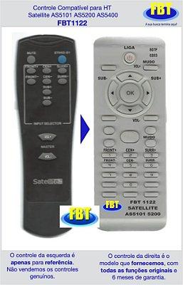 Controle Compatível Home Satellite AS5101 AS5200 AS5400 FBT1122