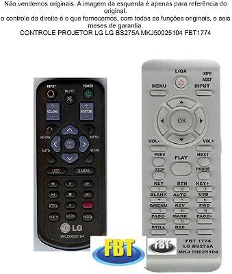 CONTROLE PROJETOR LG BS275A MKJ50025104 FBT1774