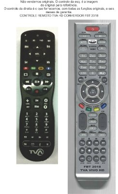 Controle Remoto Compatível TVAHD VIVOHD FBT2018