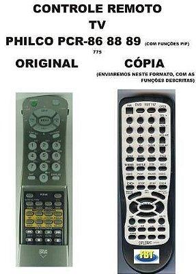 Controle Remoto Philco Tv Pcr-86 Pcr88 Pcr89 Com Funcoes Pip