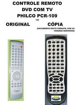 Controle Remoto Philco Dvd Com Tv Pcr-109 Pvt-2150