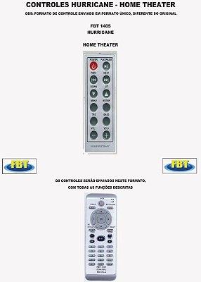 Controle Remoto Home Theater Hurricane / Hyundai / Jvc Kenwood / Konik