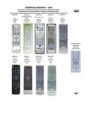 Controle Remoto Compatível - Dvd Britania Bulk Caosde Casio Catarata