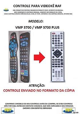 CONTROLE PARA I-VIDEOKE RAF ELETRONICS / VÁRIOS MODELOS