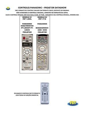 Controle Remoto Projetor Datashow Panasonic Philco Sanyo Sony Toshiba Viewsonic Xsagon