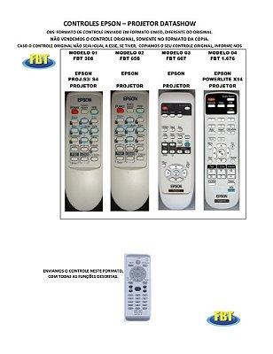 Controle Remoto Projetor Datashow 3M - Acer / Benq Siemens / Bontech / Dell / Dukane / Epson / Hitachi / Hp Infocus Led