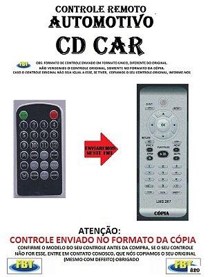 Controle Remoto Compatível - Automotivo CDCAR