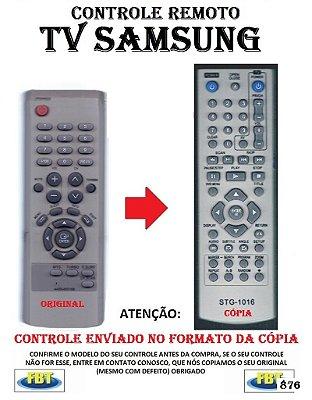 Controle Remoto Compatível - para TV SAMSUNG