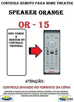 Controle Remoto Compatível - para Home THEATER ORANGE OR-15