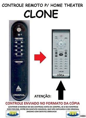 Controle Remoto Compatível - para Home THEATER CLONE HT