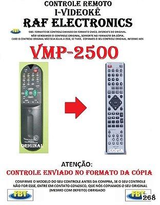 CONTROLE REMOTO I-VIDEOKE RAF ELECTRONICS VMP-2500