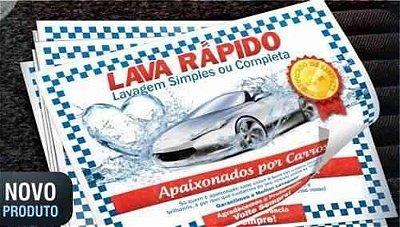 TAPETE DE PAPEL PARA CARRO
