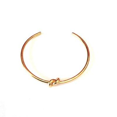 Bracelete Semi Jóia - Nózinho - Dourado