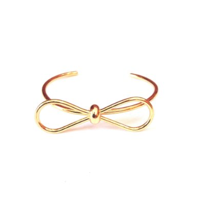 Bracelete Semi Jóia - Lacinho - Dourado
