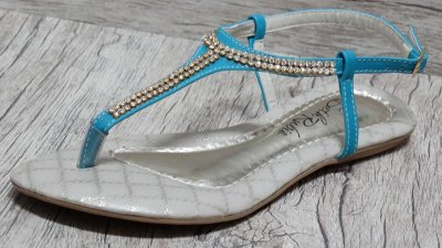 Sandália (rasteira) Azul - Ref 122