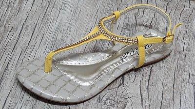 Sandália (rasteira) Amarelo - Ref 122